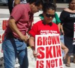 Joe Arpaio Racial-Profiling Trial Draws Protestors' Calls for Justice on Opening Day
